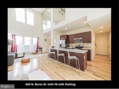 820 N Burns Street UNIT 6, Philadelphia, PA 19130 - #: PAPH965436