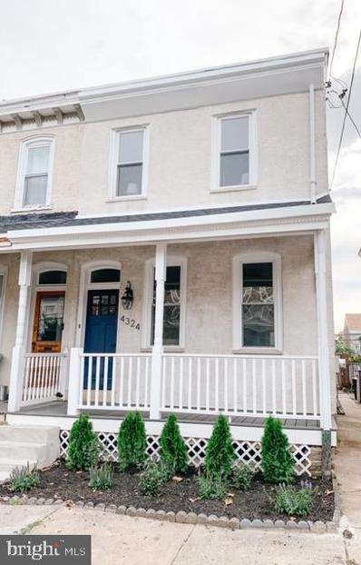 4324 Mitchell Street, Philadelphia, PA 19128 - #: PAPH980198