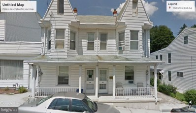 1728 West End Avenue, Pottsville, PA 17901 - #: PASK127536