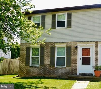 857 Mcallister Street, Hanover, PA 17331 - MLS#: PAYK139802
