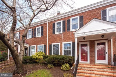 4816 28TH Street S, Arlington, VA 22206 - #: VAAR139296