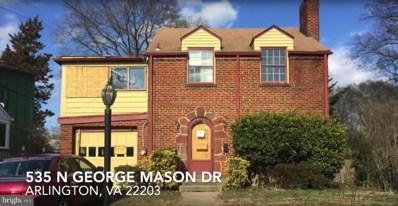 535 N George Mason Drive, Arlington, VA 22203 - #: VAAR147604