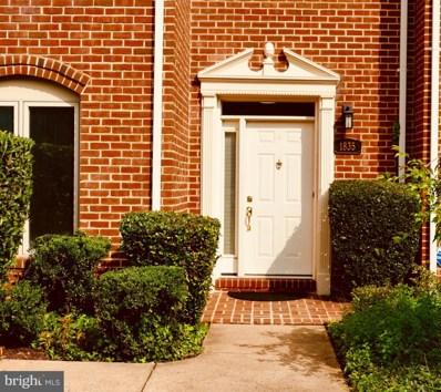 1835 N Uhle Street UNIT 1, Arlington, VA 22201 - #: VAAR169926