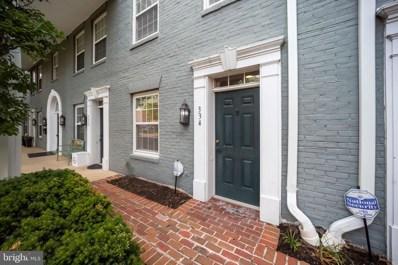 334 South West Street, Alexandria, VA 22314 - #: VAAX2000237