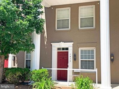 1415 Roundhouse Lane, Alexandria, VA 22314 - MLS#: VAAX235612