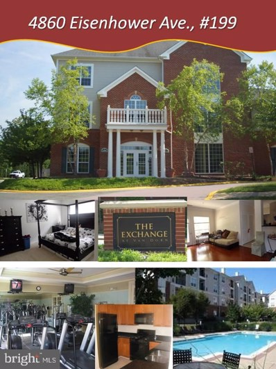 4860 Eisenhower Avenue UNIT 199, Alexandria, VA 22304 - MLS#: VAAX237532