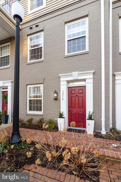 1316 Roundhouse Lane, Alexandria, VA 22314 - #: VAAX241854
