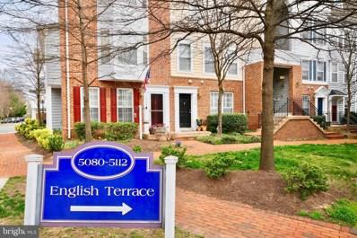 5106 English Terrace, Alexandria, VA 22304 - #: VAAX255408