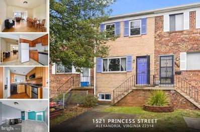 1521 Princess Street, Alexandria, VA 22314 - #: VAAX256120