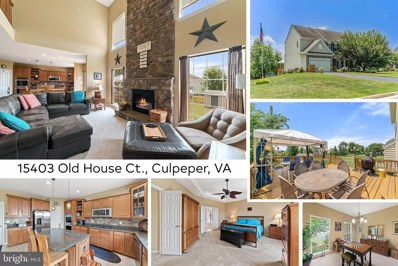 15403 Old House Court, Culpeper, VA 22701 - #: VACU141916