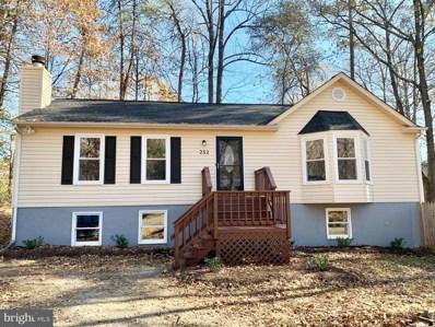 252 Hampshire Drive, Ruther Glen, VA 22546 - #: VACV123316