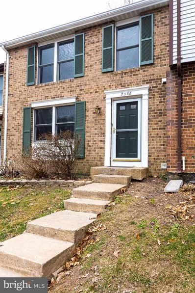 7338 Golden Horseshoe Court, Springfield, VA 22153 - #: VAFX1001480