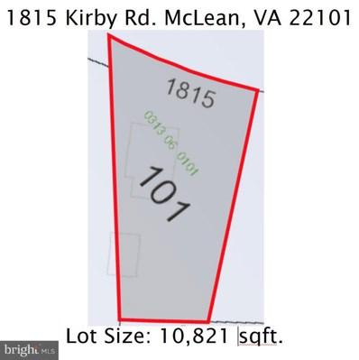 1815 Kirby Road, Mclean, VA 22101 - #: VAFX100616