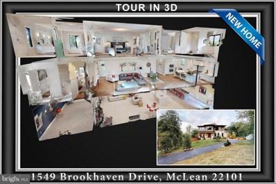 1549 Brookhaven Drive, Mclean, VA 22101 - MLS#: VAFX102554