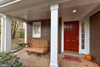 1414 Church Hill Place, Reston, VA 20194 - MLS#: VAFX103284
