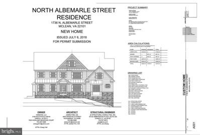 1736 N Albemarle Street, Mclean, VA 22101 - #: VAFX1061910