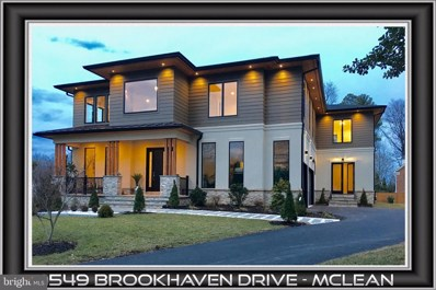 1549 Brookhaven Drive, Mclean, VA 22101 - #: VAFX1073710