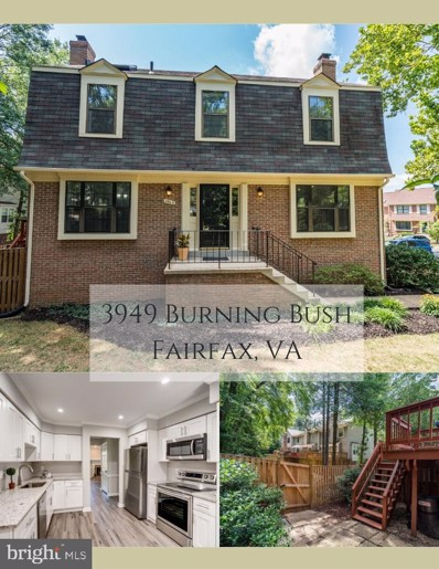 3949 Burning Bush Court, Fairfax, VA 22033 - #: VAFX1081874