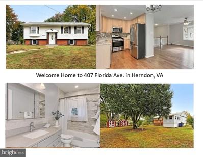 407 Florida Avenue, Herndon, VA 20170 - #: VAFX1097326
