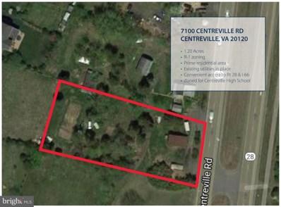 7100 Centreville, Centreville, VA 20120 - #: VAFX1101816