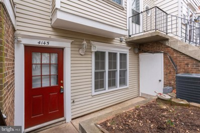 4145 Weeping Willow Court UNIT 145F, Chantilly, VA 20151 - #: VAFX1107400