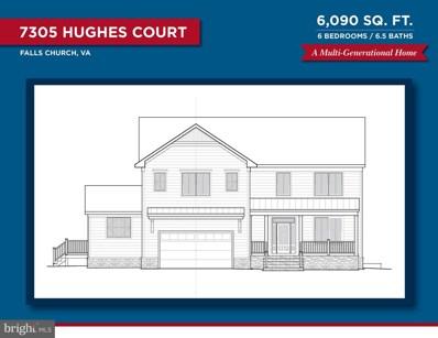 7305 Hughes Court, Falls Church, VA 22046 - #: VAFX1121608