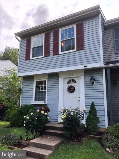 1634 Purple Sage Drive, Reston, VA 20194 - MLS#: VAFX1130164