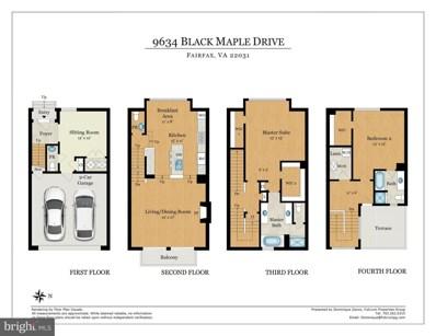 9634 Black Maple Drive, Fairfax, VA 22031 - #: VAFX1130684