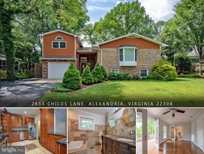 2633 Childs Lane, Alexandria, VA 22308 - #: VAFX1143030
