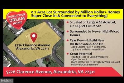 5726 Clarence Avenue, Alexandria, VA 22311 - #: VAFX1150184
