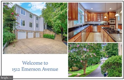 1512 Emerson Avenue, Mclean, VA 22101 - #: VAFX1151764