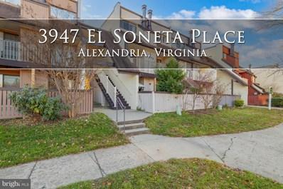 3947 El Soneta Place UNIT 14, Alexandria, VA 22309 - #: VAFX1171458