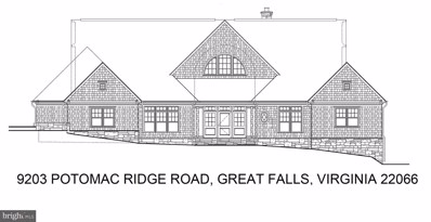 9203 Potomac Ridge Road, Great Falls, VA 22066 - #: VAFX1178560