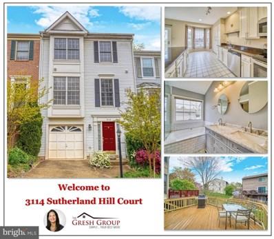 3114 Sutherland Hill Court, Fairfax, VA 22031 - #: VAFX1193930