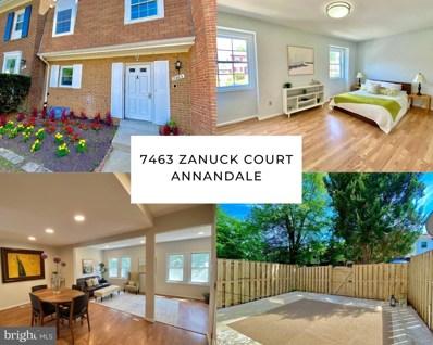 7463 Zanuck Court, Annandale, VA 22003 - #: VAFX1197708