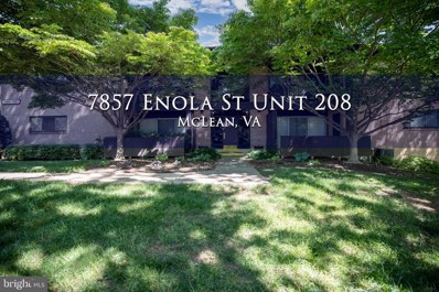 7857 Enola Street UNIT 208, Mclean, VA 22102 - #: VAFX1200968