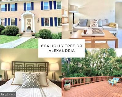 6114 Holly Tree Drive, Alexandria, VA 22310 - #: VAFX2002330