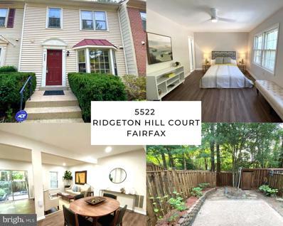 5522 Ridgeton Hill Court, Fairfax, VA 22032 - #: VAFX2006344