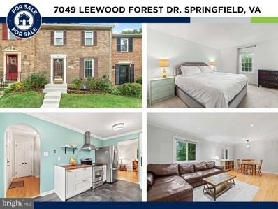 7049 Leewood Forest Drive, Springfield, VA 22151 - #: VAFX2014642