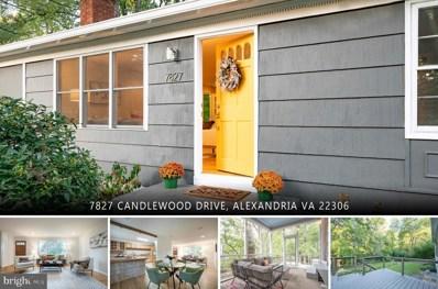 7827 Candlewood Drive, Alexandria, VA 22306 - #: VAFX2021234