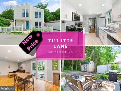 7111 Itte Lane, Springfield, VA 22150 - #: VAFX2022606