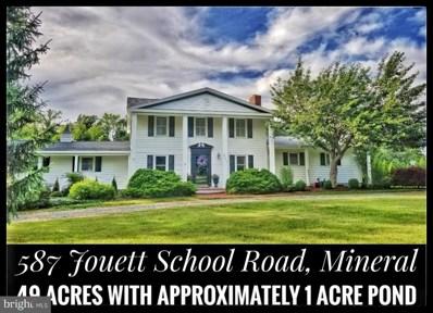 587 Jouett School Road, Mineral, VA 23117 - #: VALA119128