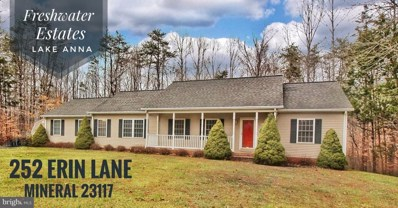 252 Erin Lane, Mineral, VA 23117 - #: VALA120364
