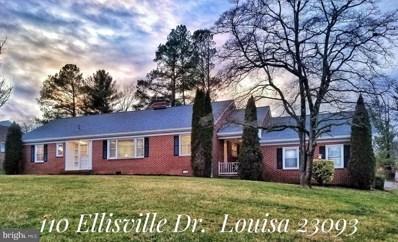110 Ellisville Drive, Louisa, VA 23093 - #: VALA120366