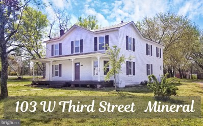 103 W Third Street, Mineral, VA 23117 - #: VALA121012
