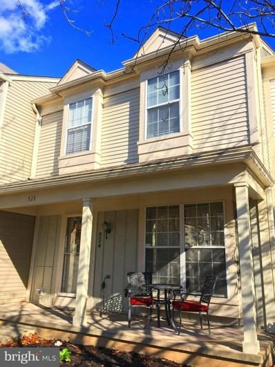 524 Currant Terrace NE, Leesburg, VA 20176 - MLS#: VALO101212