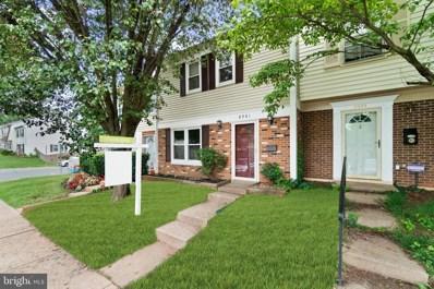 8981 Bonham Circle, Manassas, VA 20110 - MLS#: VAMN142136