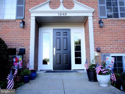 1543 Colonial Drive UNIT 104, Woodbridge, VA 22192 - #: VAPW473164