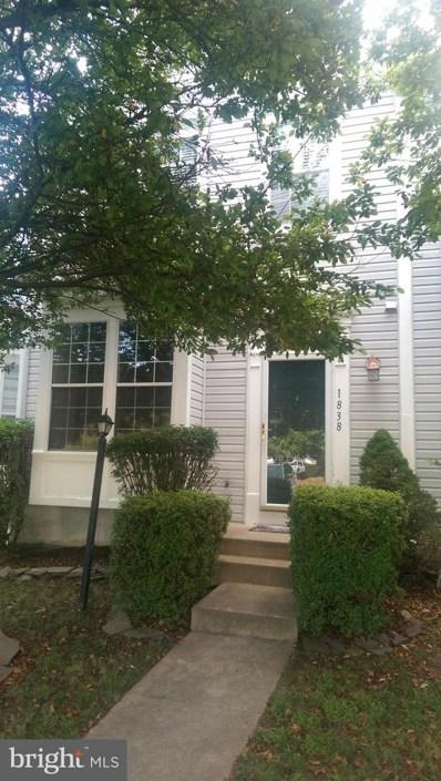 1838 Wigglesworth Way, Woodbridge, VA 22191 - #: VAPW473836