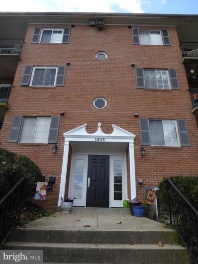 1543 Colonial Drive UNIT T-1, Woodbridge, VA 22192 - #: VAPW482274